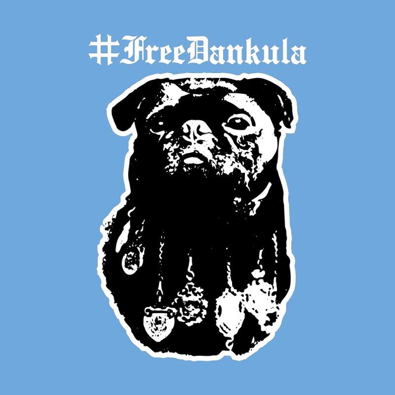 Free Dankula Royal Pug Gothic (White) by Applesawus