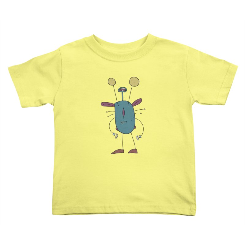 Bolar, The Touchy One Kids Toddler T-Shirt by Applesawus