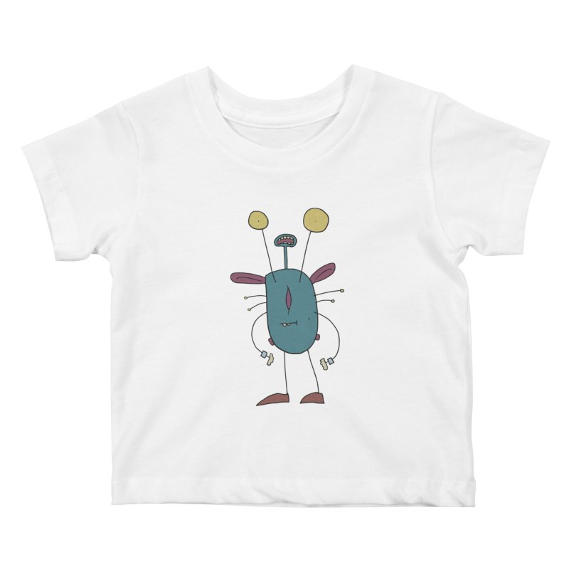 Bolar, The Touchy One Kids Baby T-Shirt by Applesawus