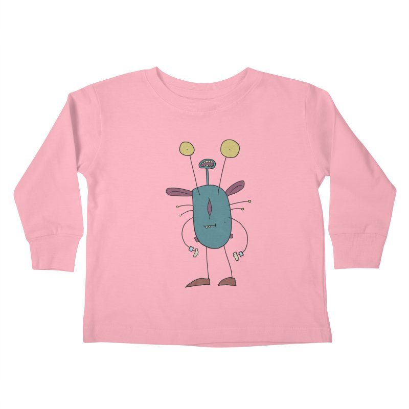 Bolar, The Touchy One Kids Toddler Longsleeve T-Shirt by Applesawus