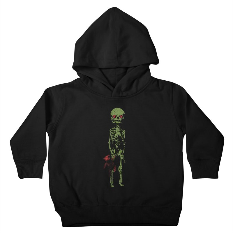 Little Tommy Skeleton Kids Toddler Pullover Hoody by Applesawus
