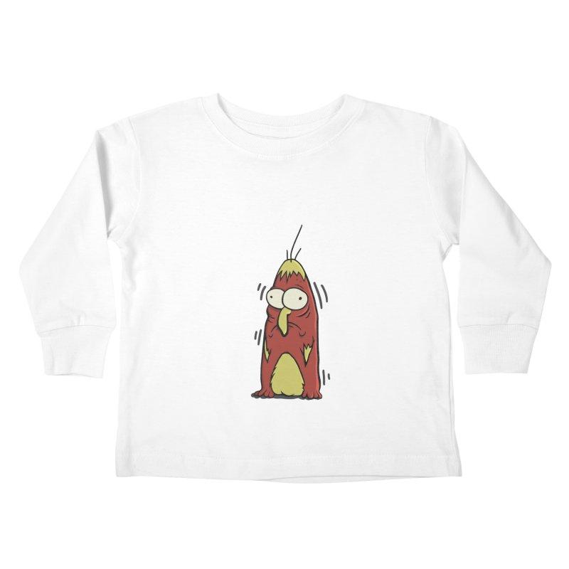 Jitters Kids Toddler Longsleeve T-Shirt by Applesawus