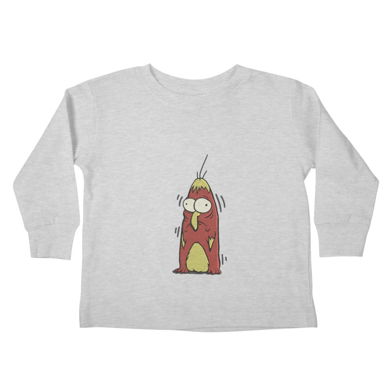 Jitters Kids Toddler Longsleeve T-Shirt by Applesawus