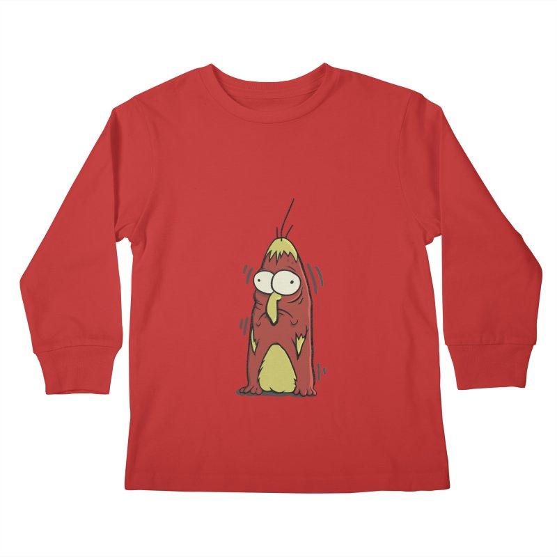 Jitters Kids Longsleeve T-Shirt by Applesawus