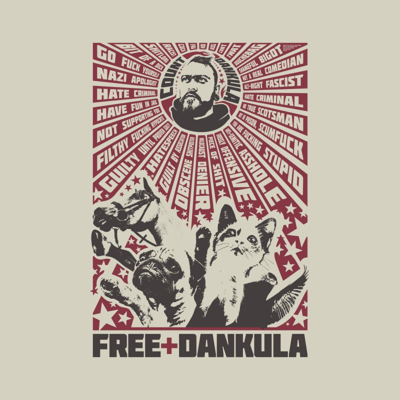 Free Dankula Meowist Propaganda Poster by Applesawus