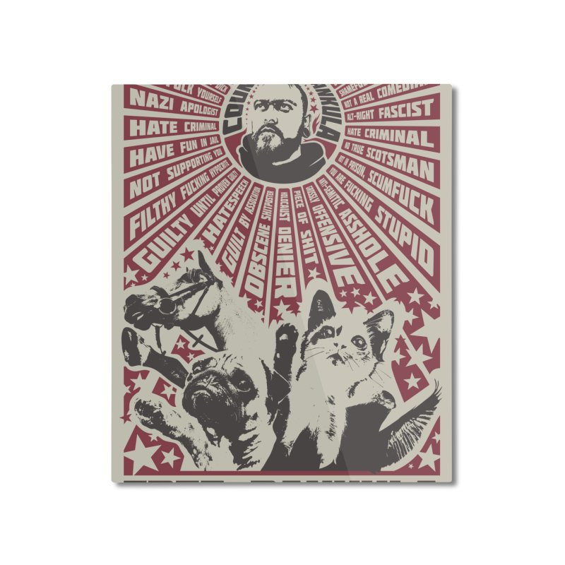 Free Dankula Meowist Propaganda Poster Home Mounted Aluminum Print by Applesawus