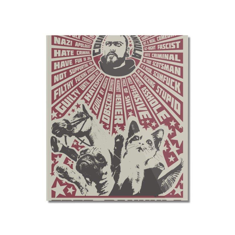 Free Dankula Meowist Propaganda Poster Home Mounted Acrylic Print by Applesawus