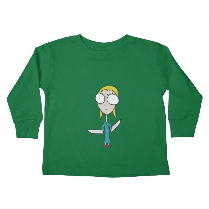 Innocent Girl Kids Toddler Longsleeve T-Shirt by Applesawus