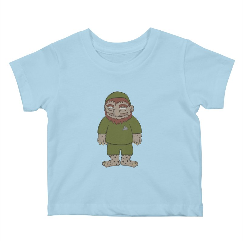 Gnome Chompsky Kids Baby T-Shirt by Applesawus