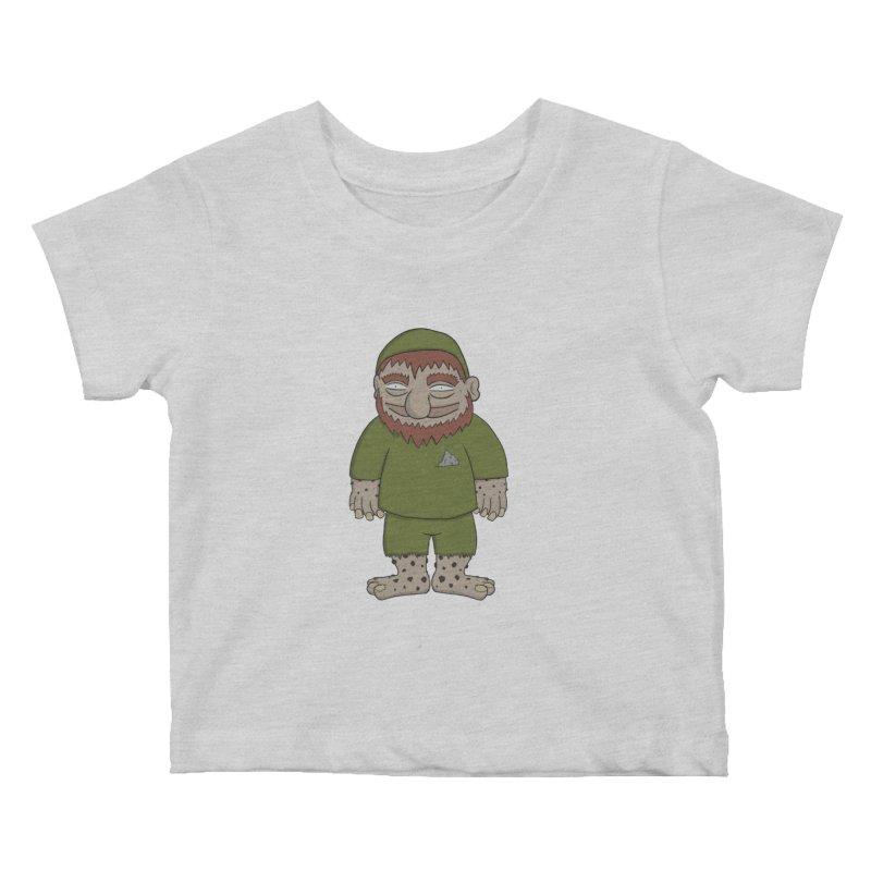 Gnome Chompsky Kids Baby T-Shirt by Applesawus