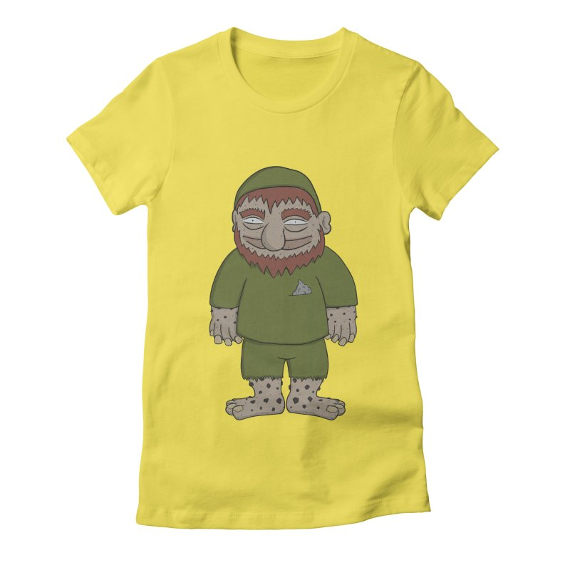 Gnome Chompsky Women's Fitted T-Shirt by Applesawus