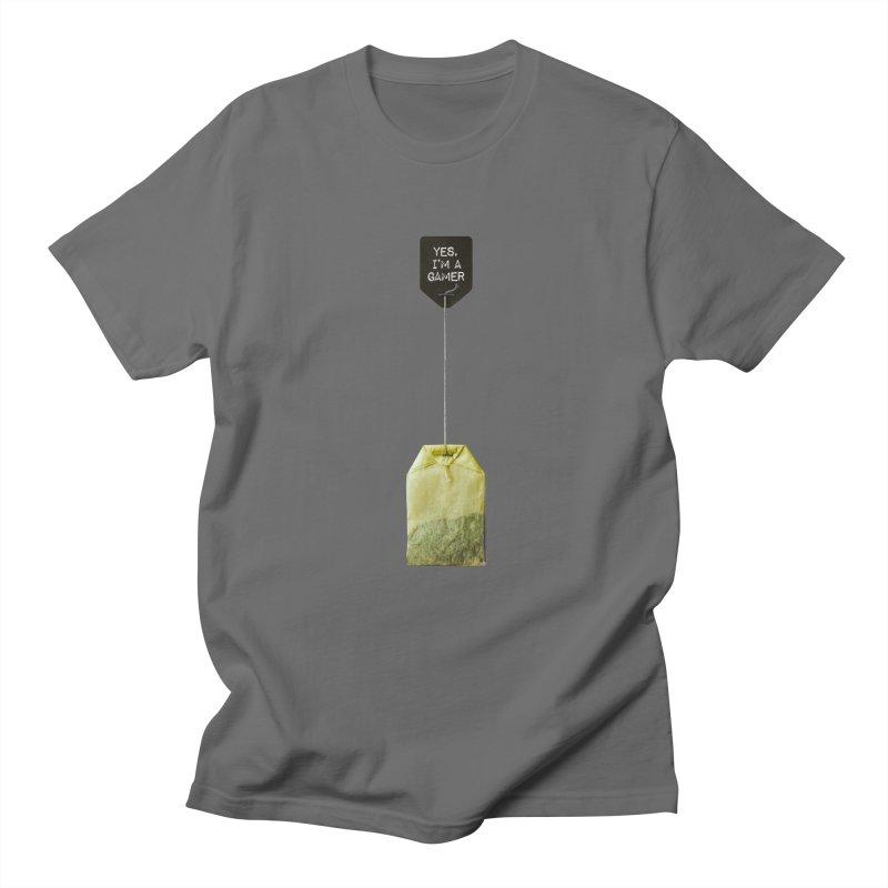 TeabagGate : Yes, I'm A Gamer Tea Bag Men's T-Shirt by Applesawus