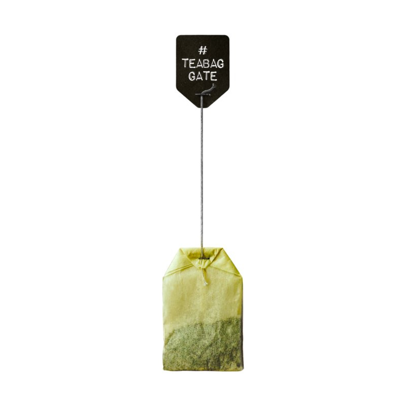 TeabagGate Hashtag Tea Bag by Applesawus