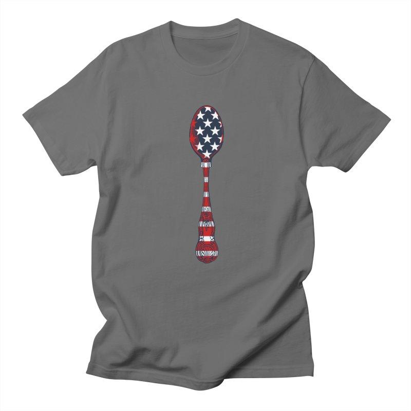 Tarl Warwick : Styxist Patriot Spoon Men's T-Shirt by Applesawus