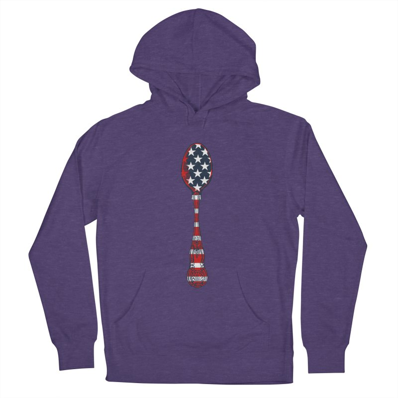 Tarl Warwick : Styxist Patriot Spoon Women's French Terry Pullover Hoody by Applesawus