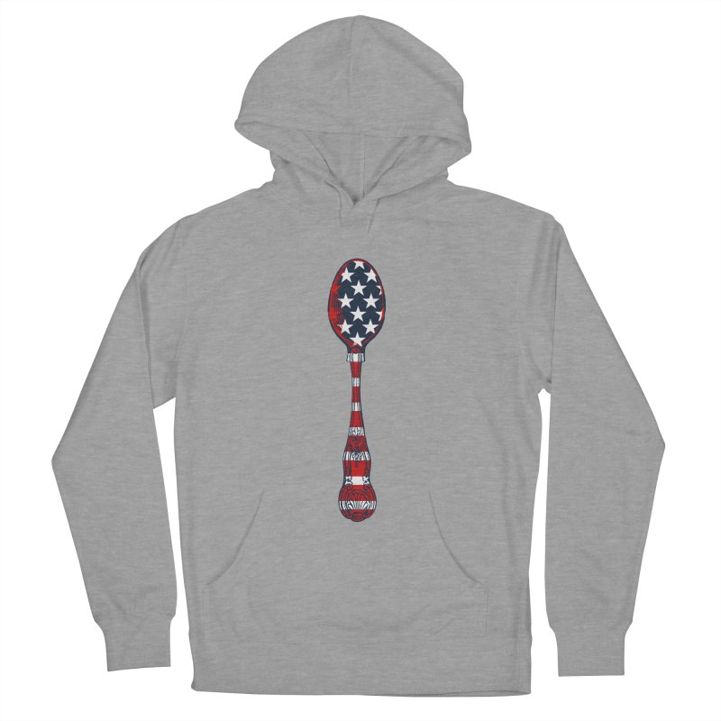 Tarl Warwick : Styxist Patriot Spoon Men's French Terry Pullover Hoody by Applesawus