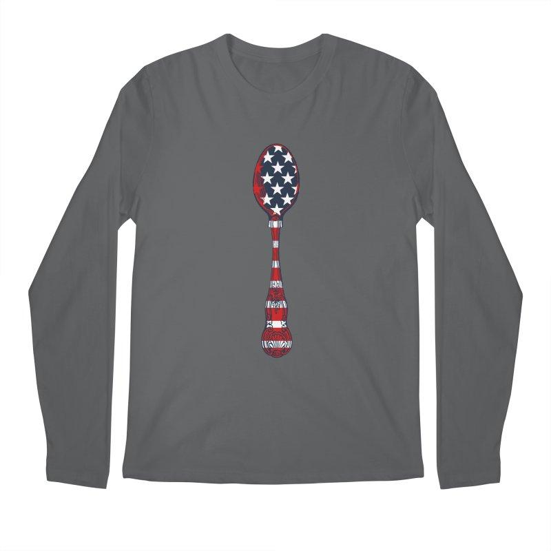 Tarl Warwick : Styxist Patriot Spoon Men's Regular Longsleeve T-Shirt by Applesawus