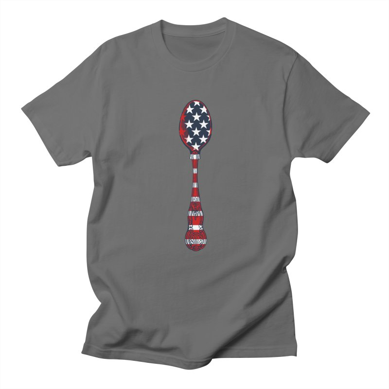 Tarl Warwick : Styxist Patriot Spoon Men's T-Shirt by Applesawus