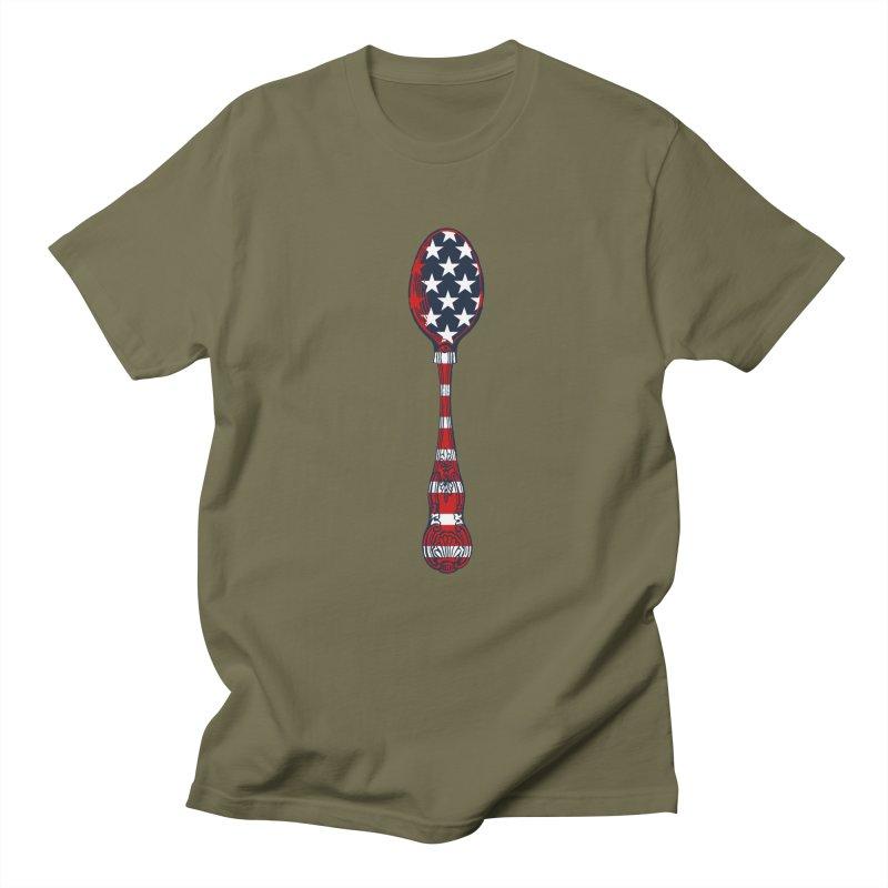Tarl Warwick : Styxist Patriot Spoon Women's Regular Unisex T-Shirt by Applesawus