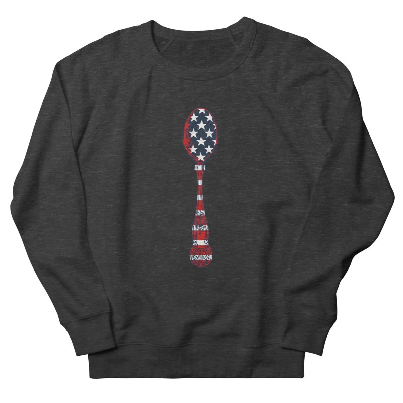 Tarl Warwick : Styxist Patriot Spoon Women's French Terry Sweatshirt by Applesawus