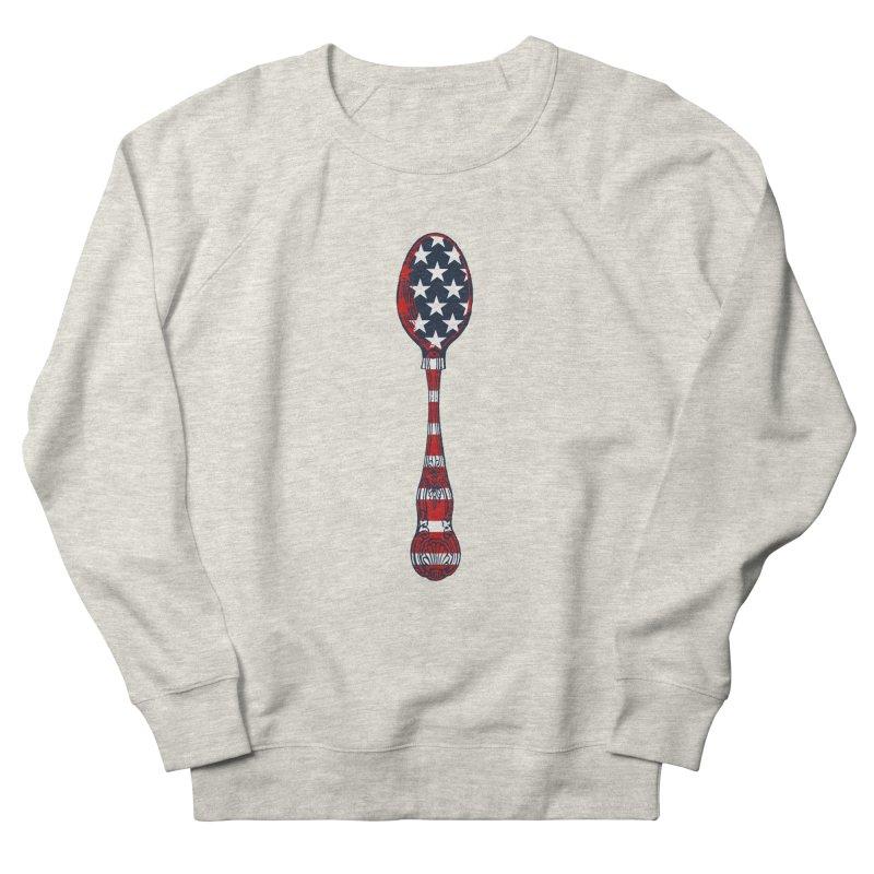 Tarl Warwick : Styxist Patriot Spoon Women's French Terry Sweatshirt by Applesawus