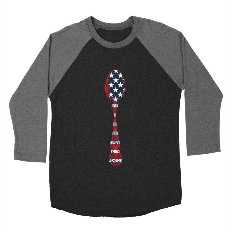 Tarl Warwick : Styxist Patriot Spoon Men's Baseball Triblend Longsleeve T-Shirt by Applesawus