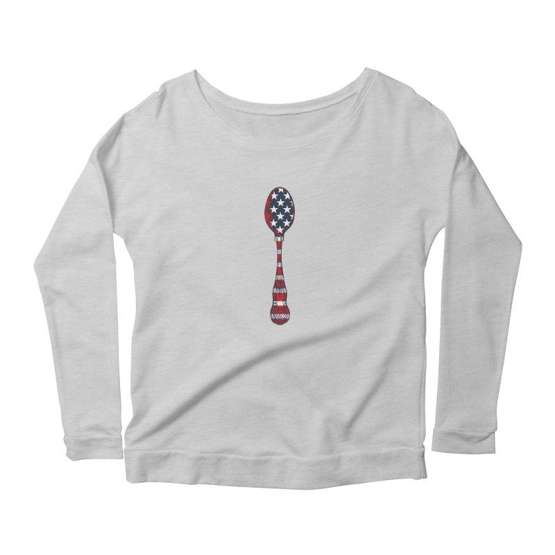 Tarl Warwick : Styxist Patriot Spoon Women's Scoop Neck Longsleeve T-Shirt by Applesawus
