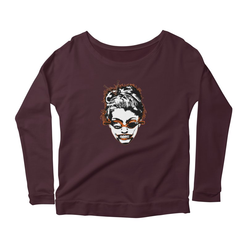 Hashtag Chick Women's Scoop Neck Longsleeve T-Shirt by Applesawus