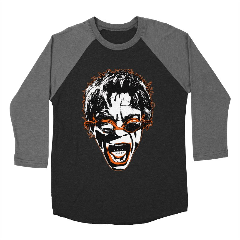 Hashtag Dude Women's Baseball Triblend Longsleeve T-Shirt by Applesawus