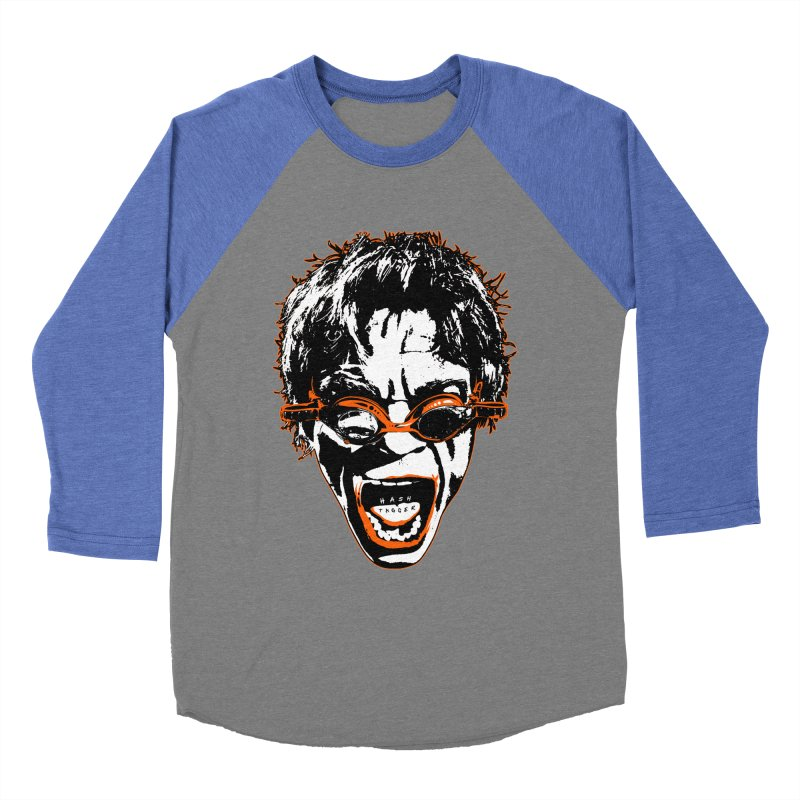 Hashtag Dude Men's Baseball Triblend Longsleeve T-Shirt by Applesawus