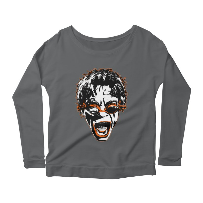 Hashtag Dude Women's Scoop Neck Longsleeve T-Shirt by Applesawus