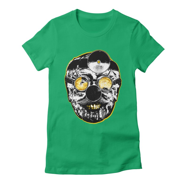 Dr. Sunshine Women's Fitted T-Shirt by Applesawus