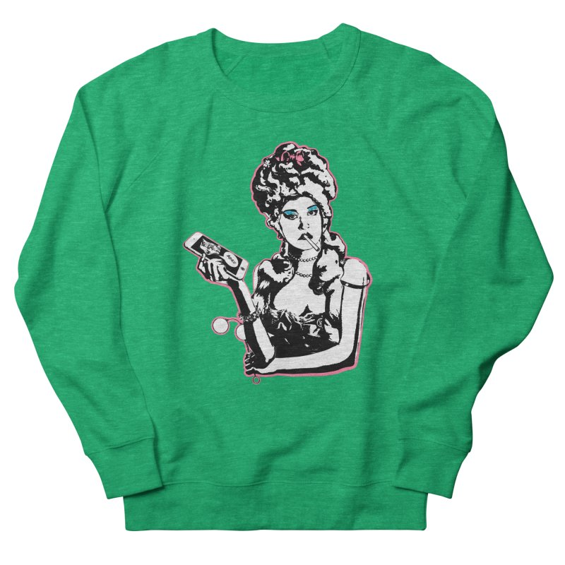 Internet Diva Women's French Terry Sweatshirt by Applesawus