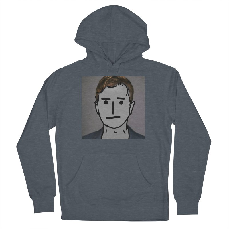 Narrative Pushing Cretin (color) Men's French Terry Pullover Hoody by Applesawus