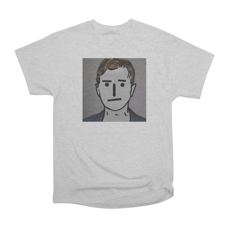 Narrative Pushing Cretin (color) Men's Heavyweight T-Shirt by Applesawus