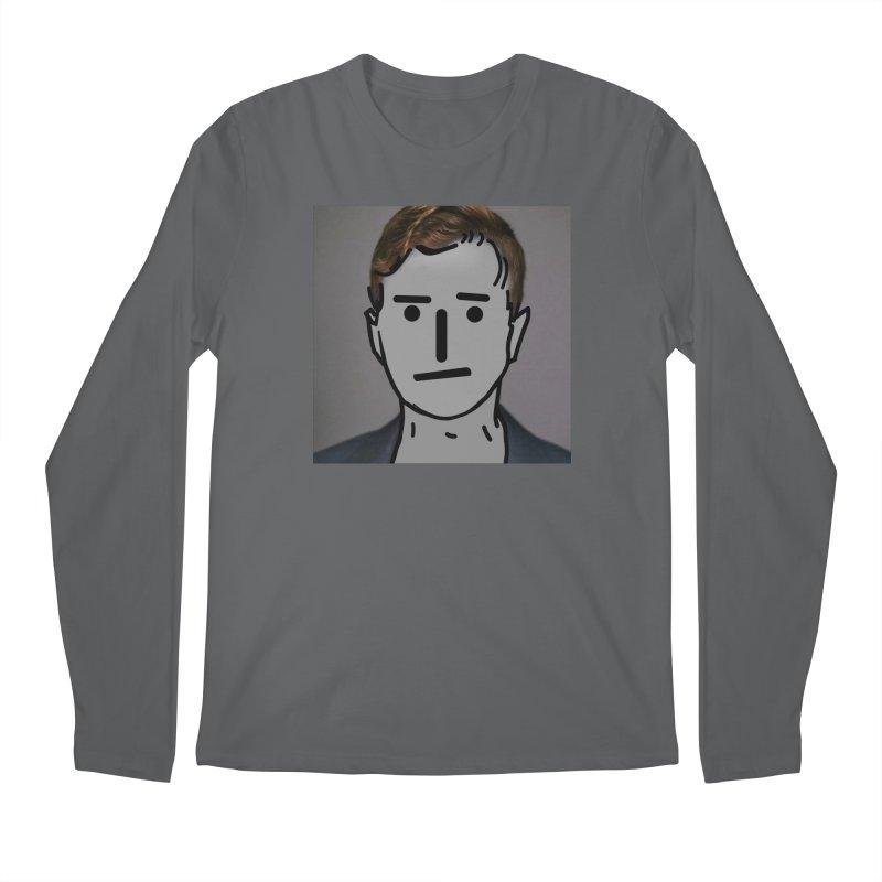 Narrative Pushing Cretin (color) Men's Regular Longsleeve T-Shirt by Applesawus
