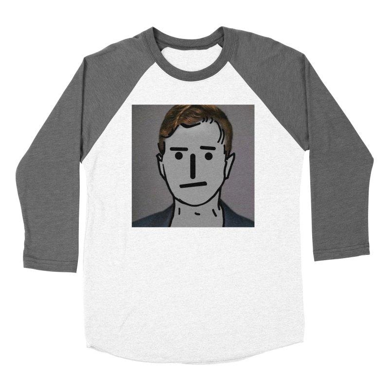 Narrative Pushing Cretin (color) Men's Baseball Triblend Longsleeve T-Shirt by Applesawus