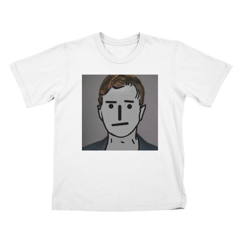 Narrative Pushing Cretin (color) Kids T-Shirt by Applesawus