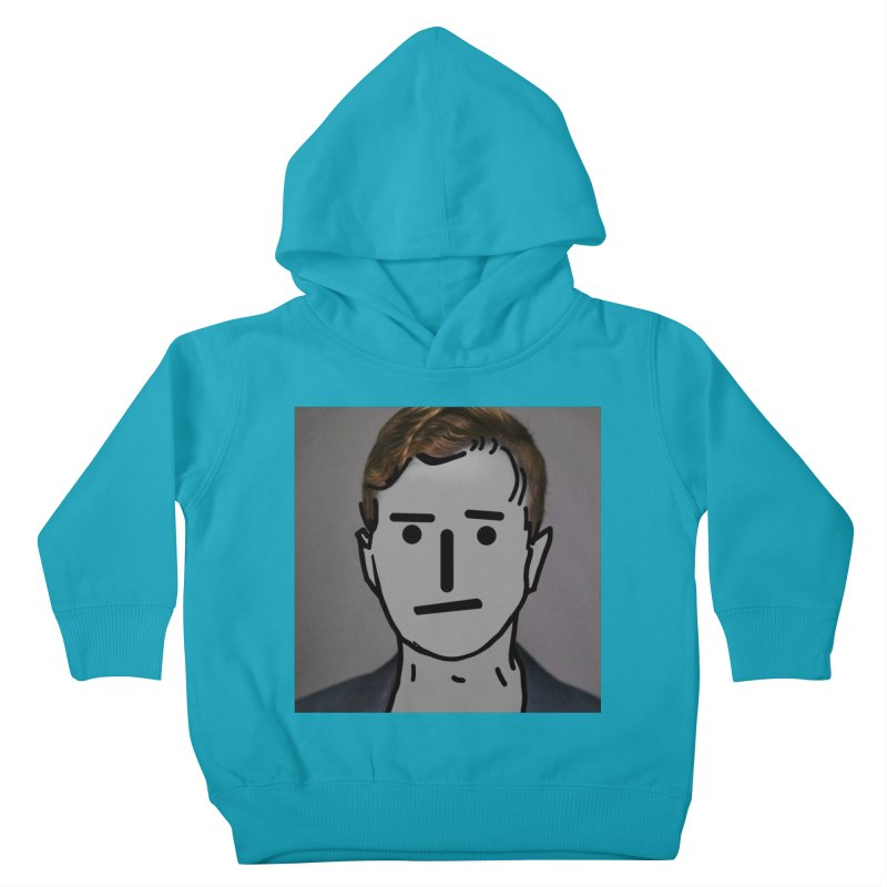 Narrative Pushing Cretin (color) Kids Toddler Pullover Hoody by Applesawus