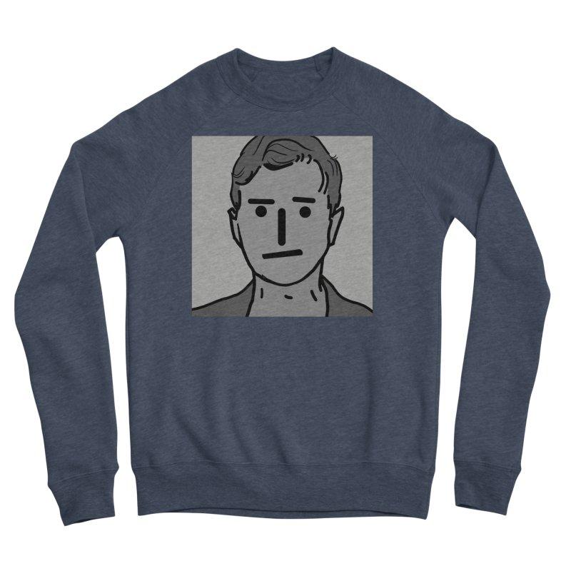 Narrative Pushing Cretin (gray) Women's Sponge Fleece Sweatshirt by Applesawus
