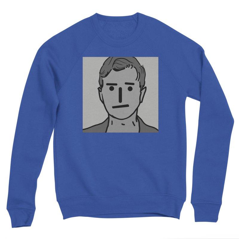 Narrative Pushing Cretin (gray) Men's Sponge Fleece Sweatshirt by Applesawus