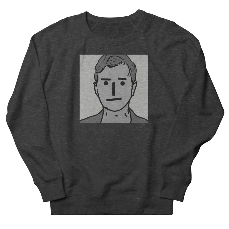 Narrative Pushing Cretin (gray) Men's French Terry Sweatshirt by Applesawus