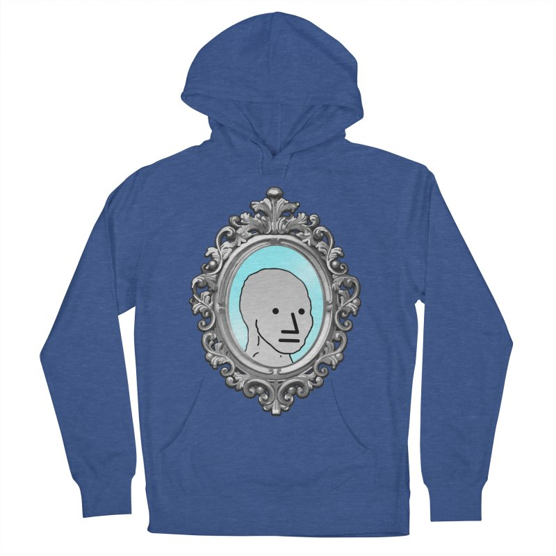 NPC in the Mirror Women's French Terry Pullover Hoody by Applesawus