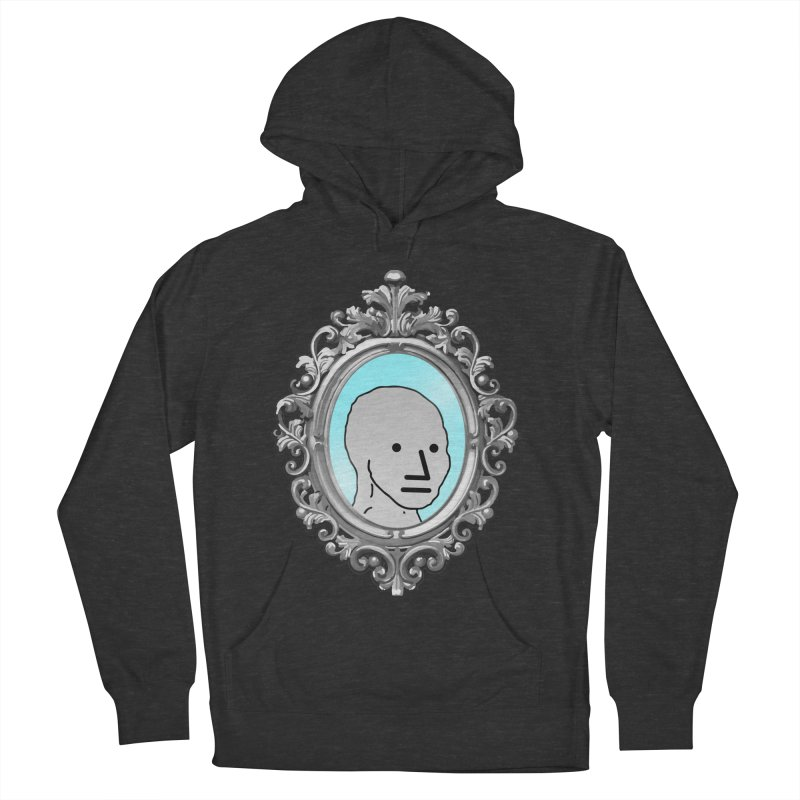 NPC in the Mirror Men's French Terry Pullover Hoody by Applesawus