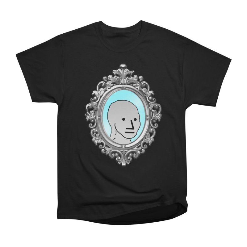 NPC in the Mirror Men's Heavyweight T-Shirt by Applesawus