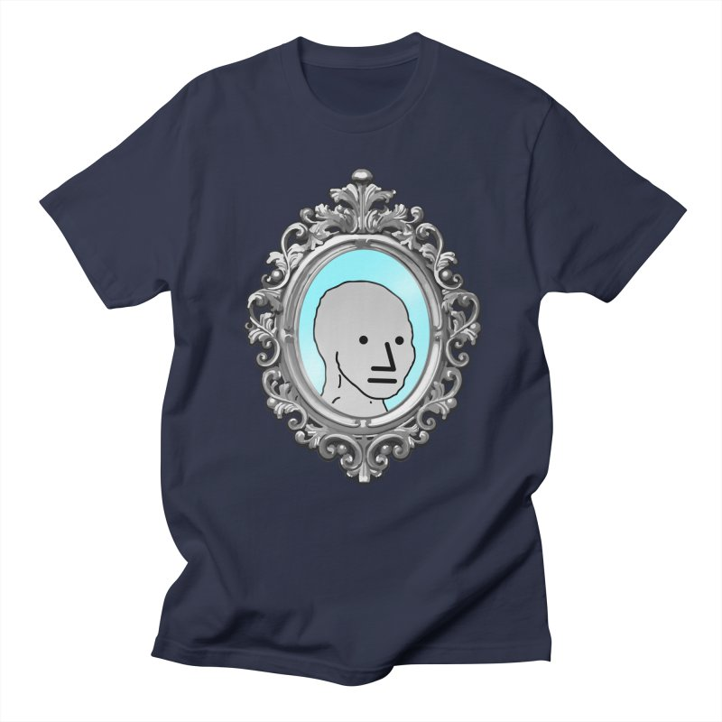NPC in the Mirror Men's Regular T-Shirt by Applesawus