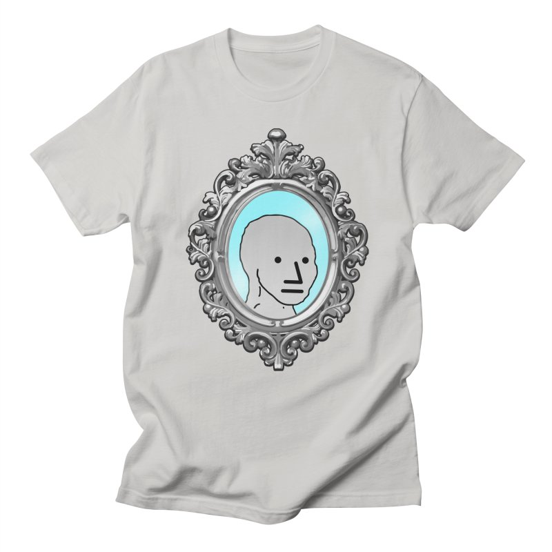 NPC in the Mirror Women's Regular Unisex T-Shirt by Applesawus
