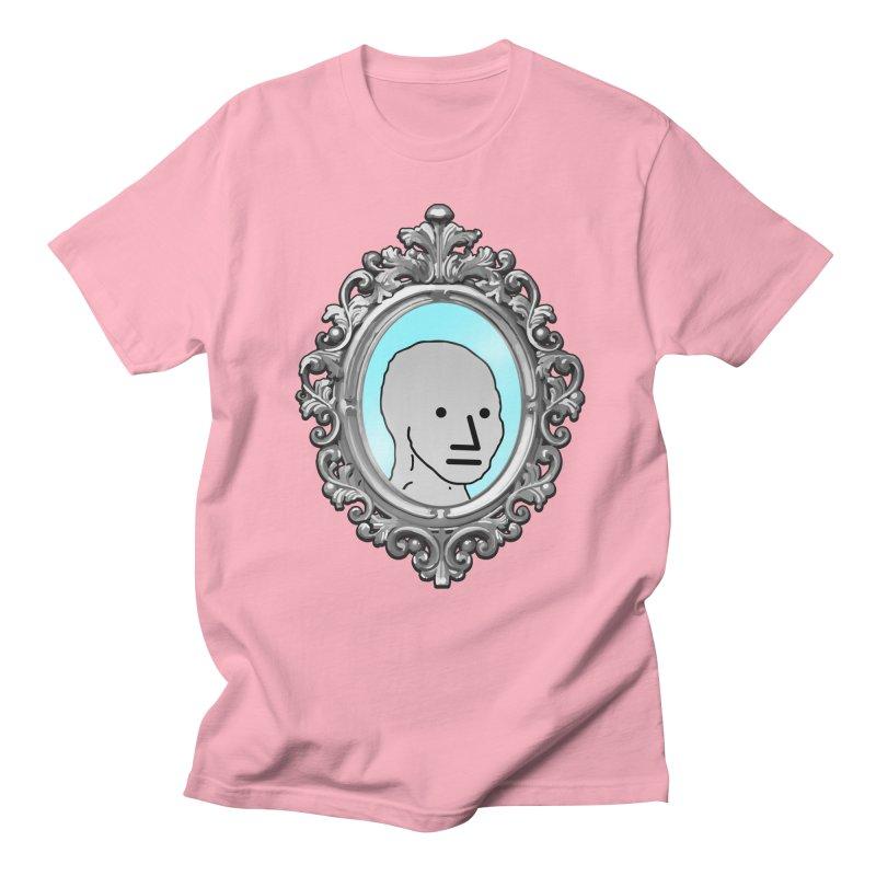 NPC in the Mirror Men's Regular T-Shirt by Applesawus