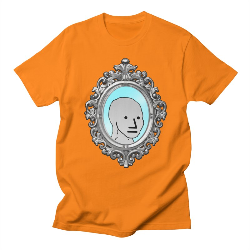 NPC in the Mirror Men's T-Shirt by Applesawus