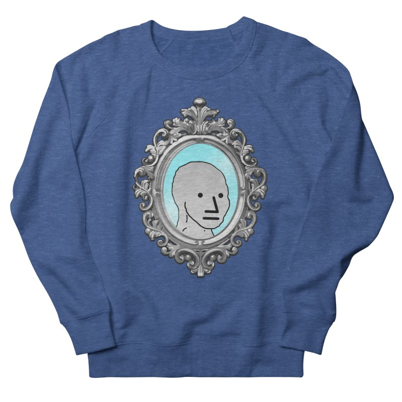 NPC in the Mirror Men's French Terry Sweatshirt by Applesawus